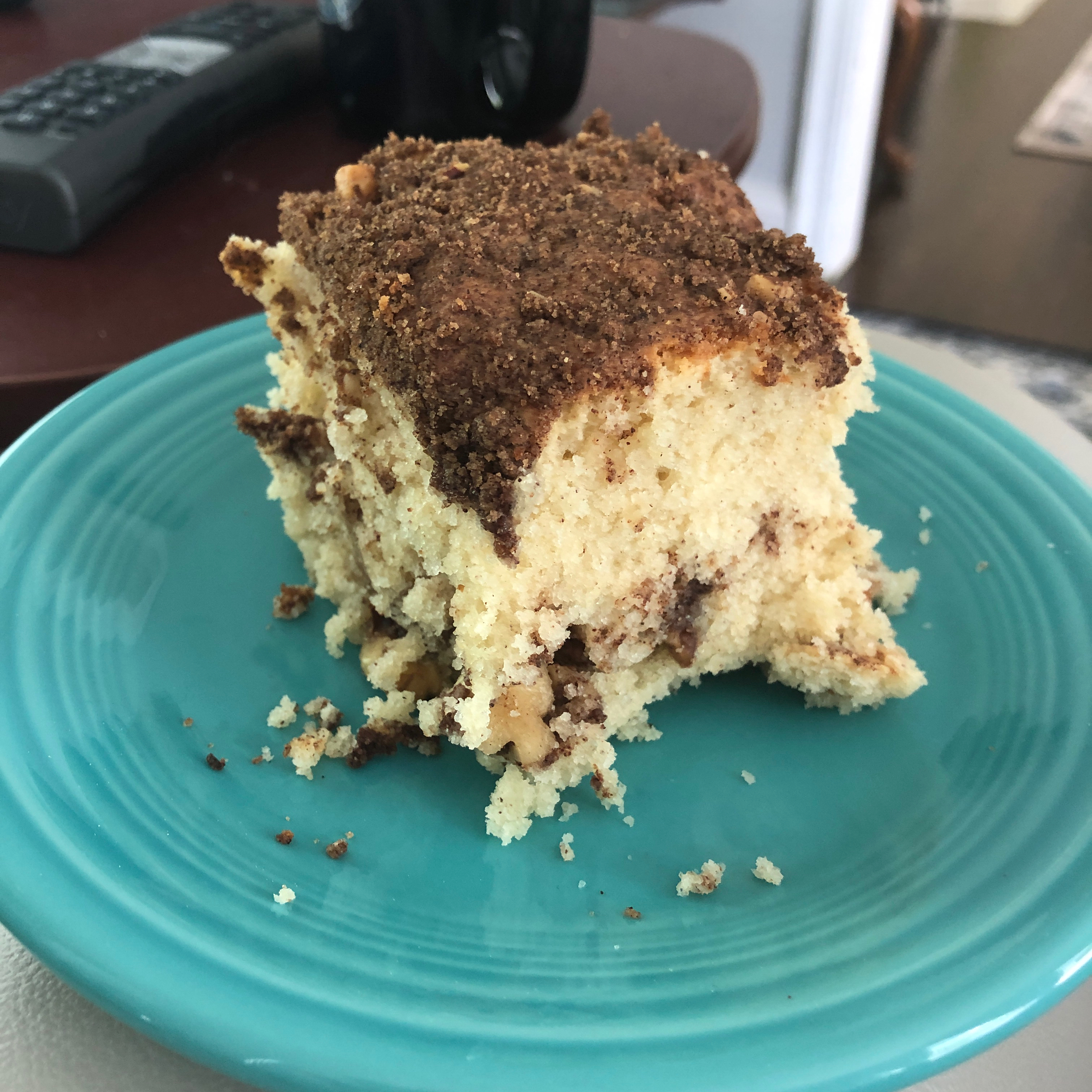 Cinnamon-Laced Coffee Cake