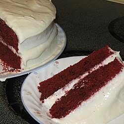 reduced fat and cholesterol red velvet cake recipe