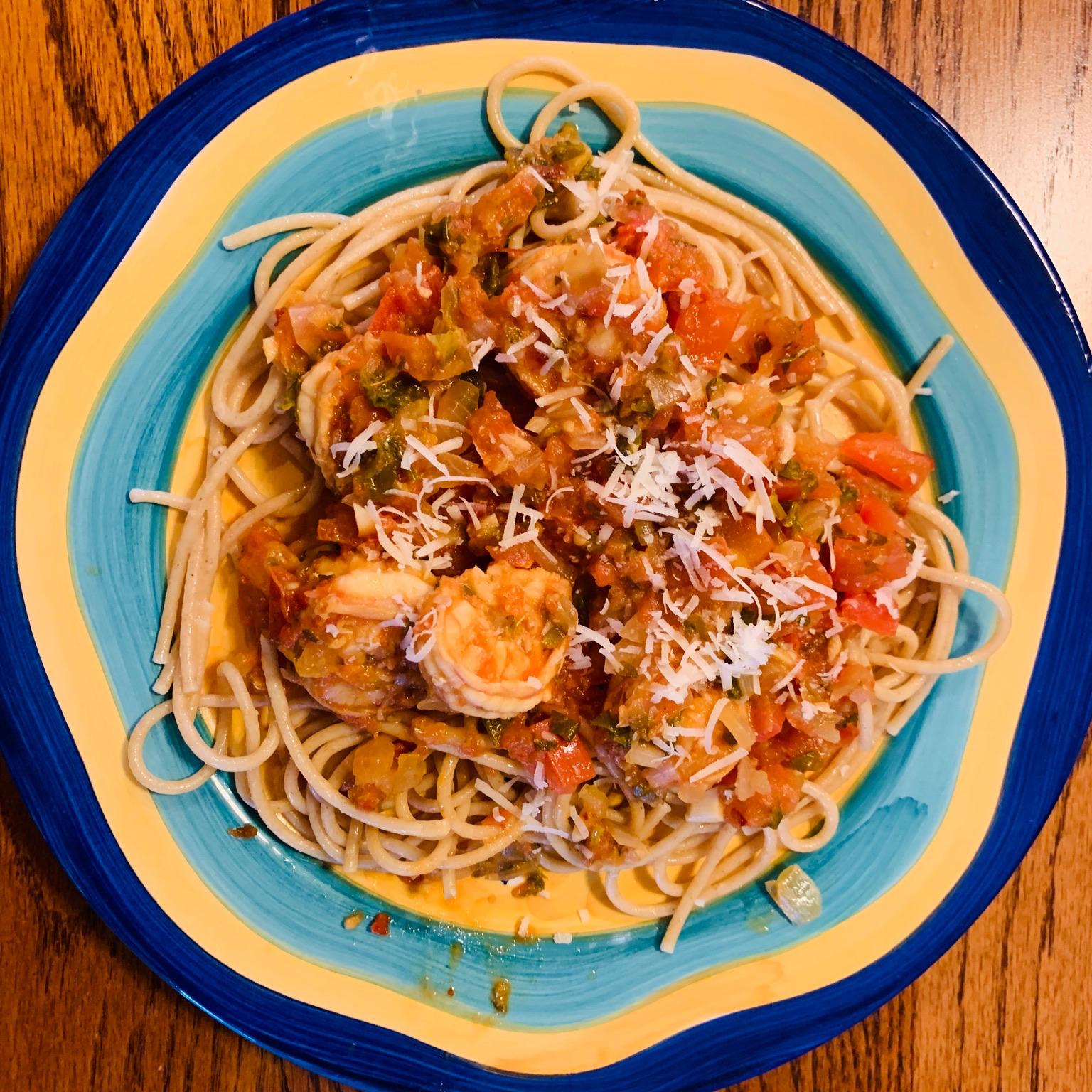 Easy Shrimp Fra Diavolo bryan