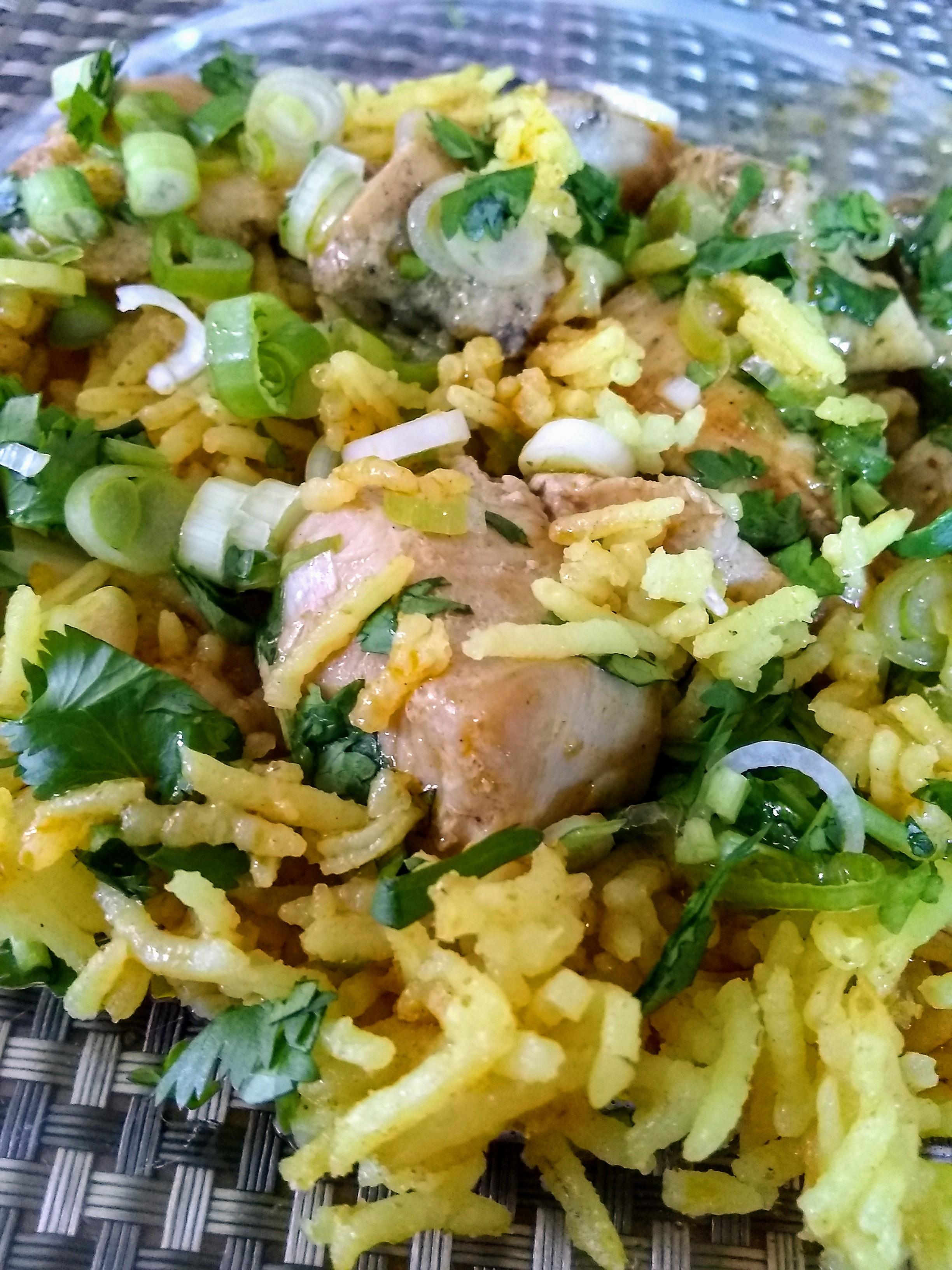 Basic Yellow Rice Christina