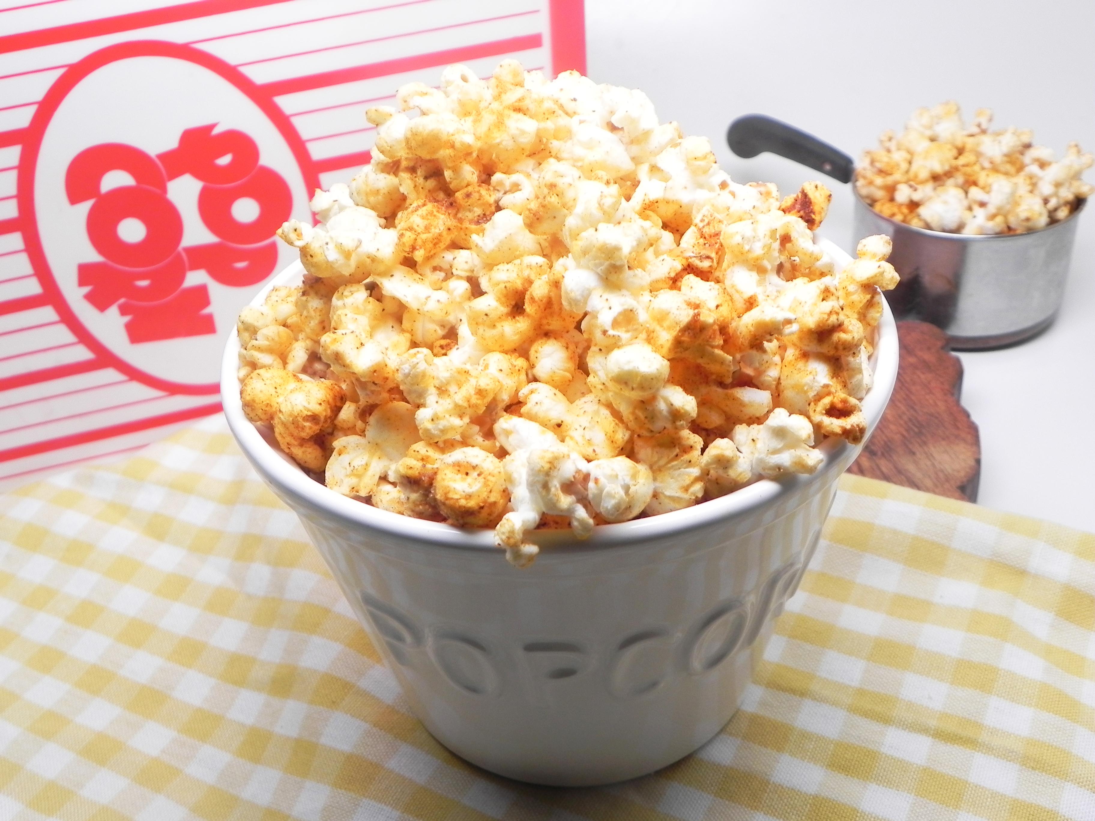 Tex-Mex Savory Popcorn