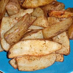 Spiced-Up Grilled Tater Wedges sueb