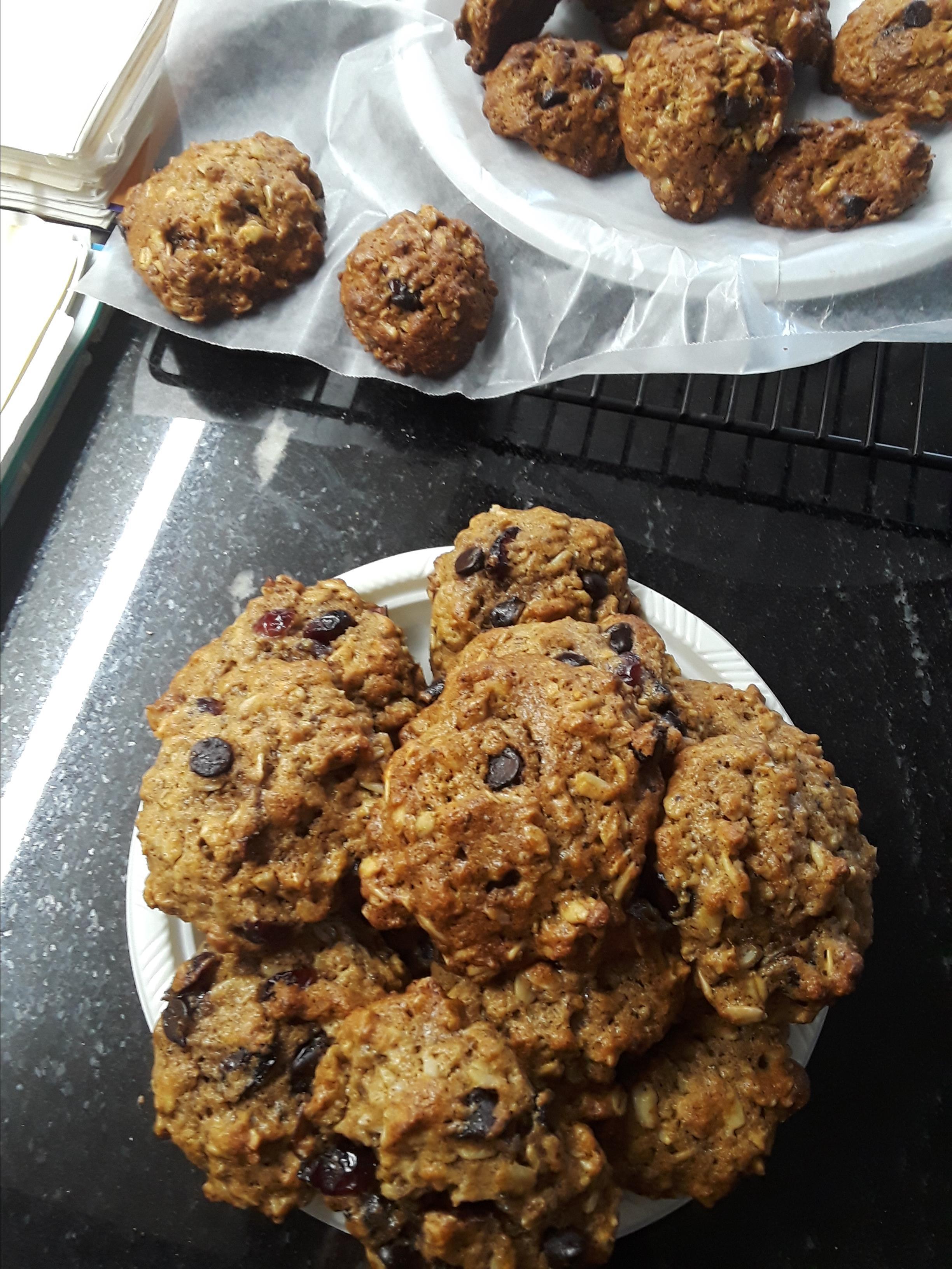 Easy Oatmeal Cookies Susie Z