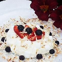 red white and blue ambrosia recipe