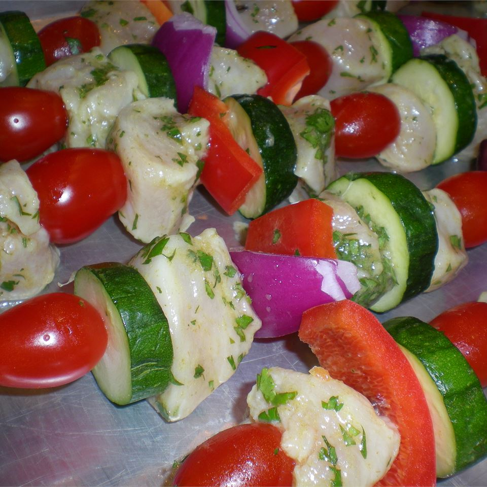 Chicken Kabobs Mexicana Kim's Cooking Now
