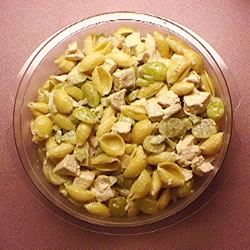 Company Chicken Pasta Salad with Grapes Sandy Williams