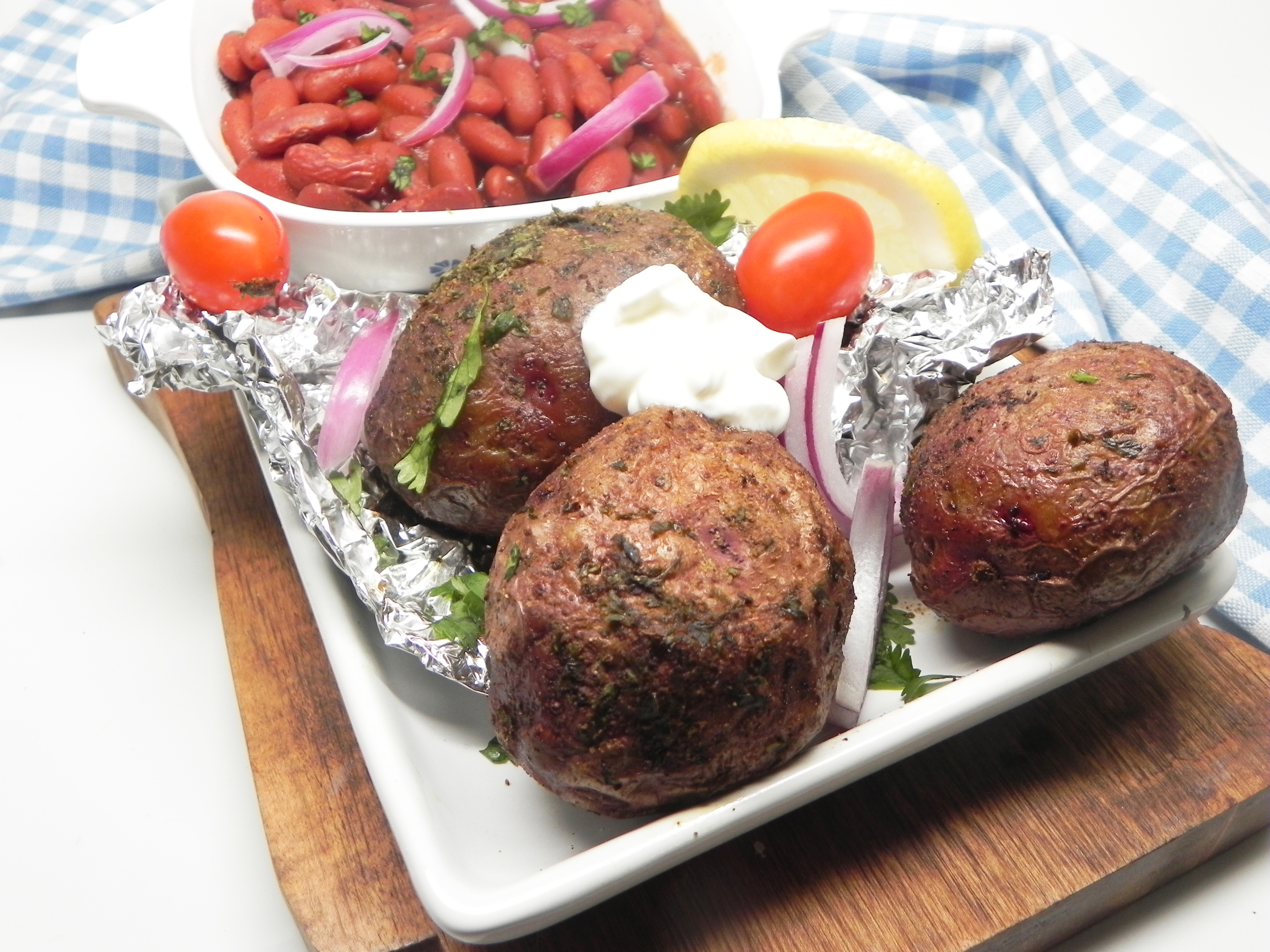 Grilled Red Potatoes in Foil