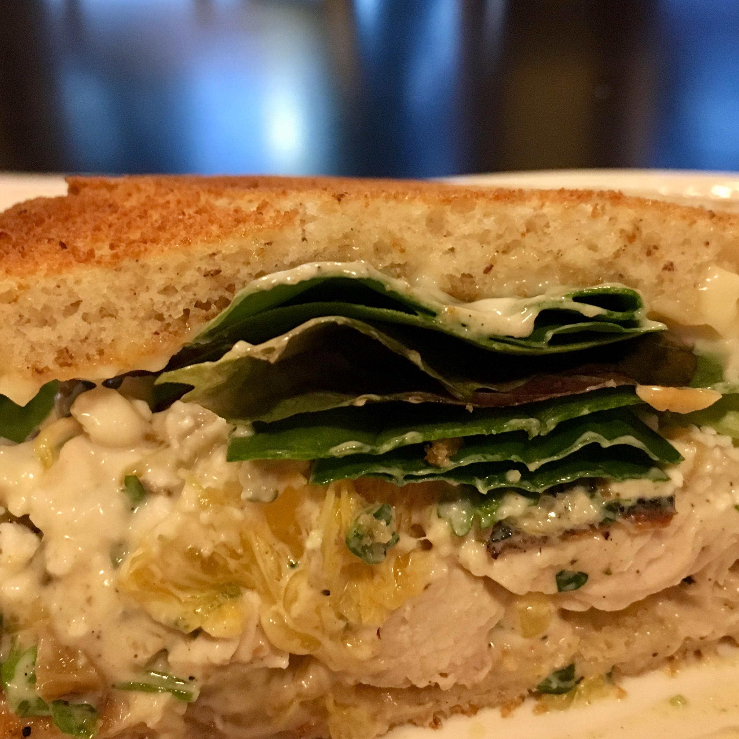 Grilled Chicken Salad Sandwich DonnaNearDallas