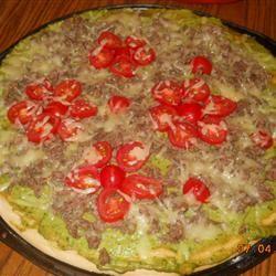 Chicken Avocado Pizza asuka