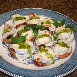 Eggplant Slices, Tomatoes, and Mozzarella Ms. Chef Esh