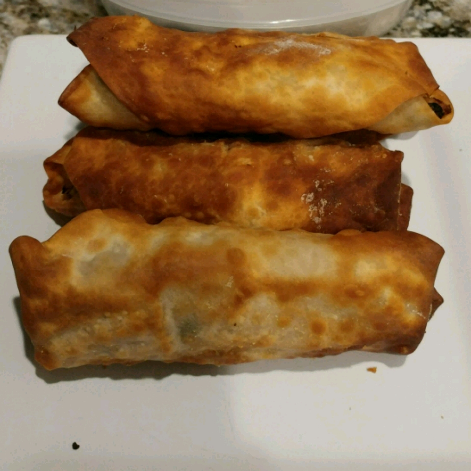 Lumpia in the Air Fryer Steffany Rivera