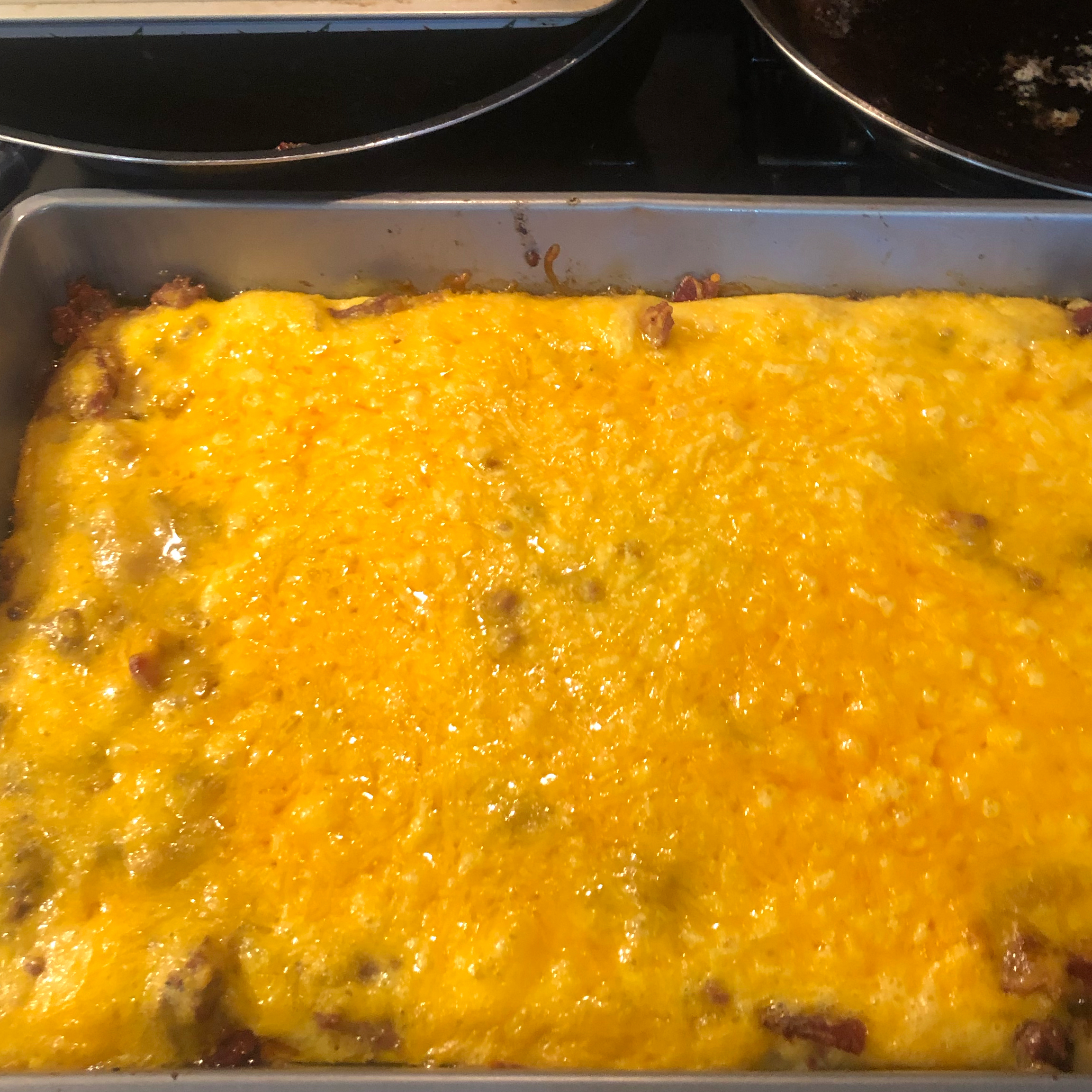 Low-Carb Bacon Cheeseburger Casserole