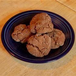 Molasses Peanut Butter Crinkles SKOONUS