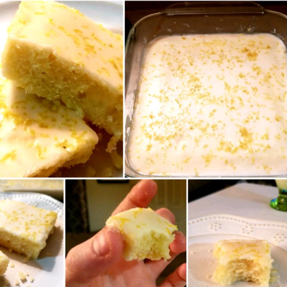 Lemon Brownies Cupcakelover4ever