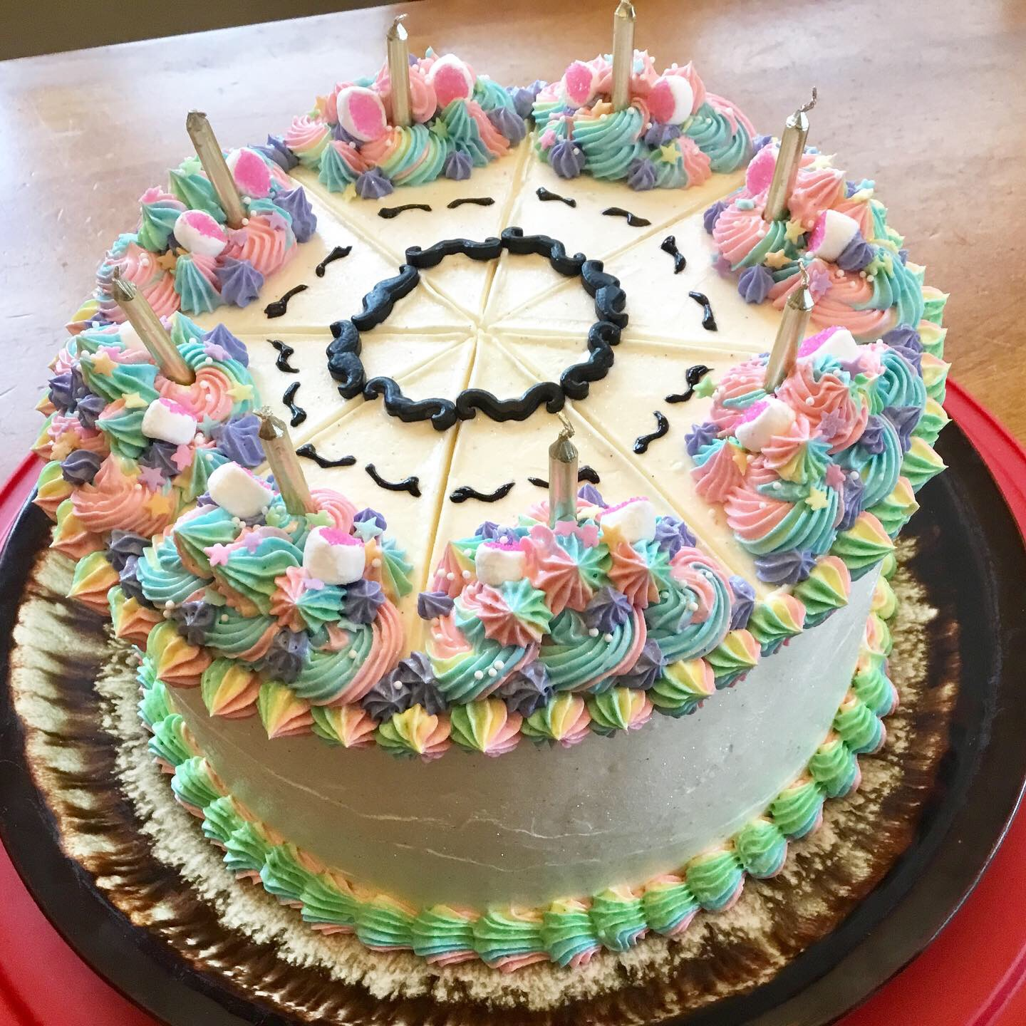 Chocolate Unicorn Cake Lisa