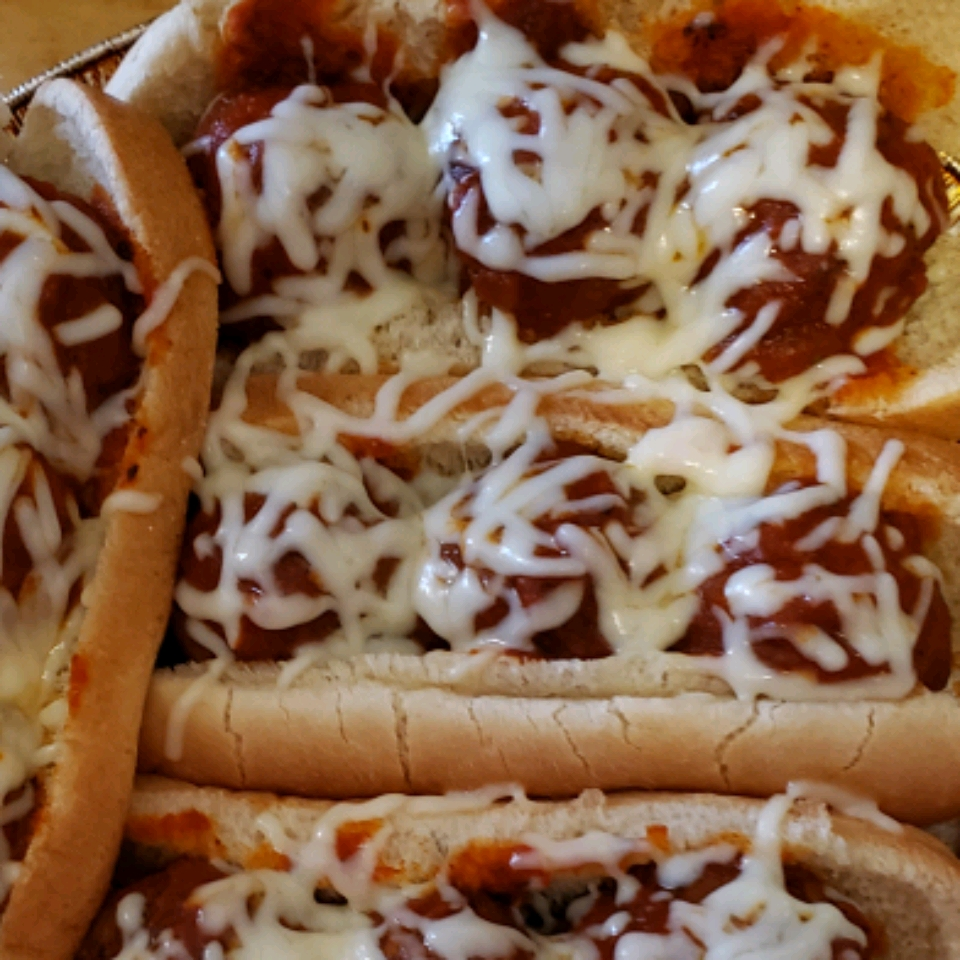 Meatball Sub Sandwich Beverly Anderson