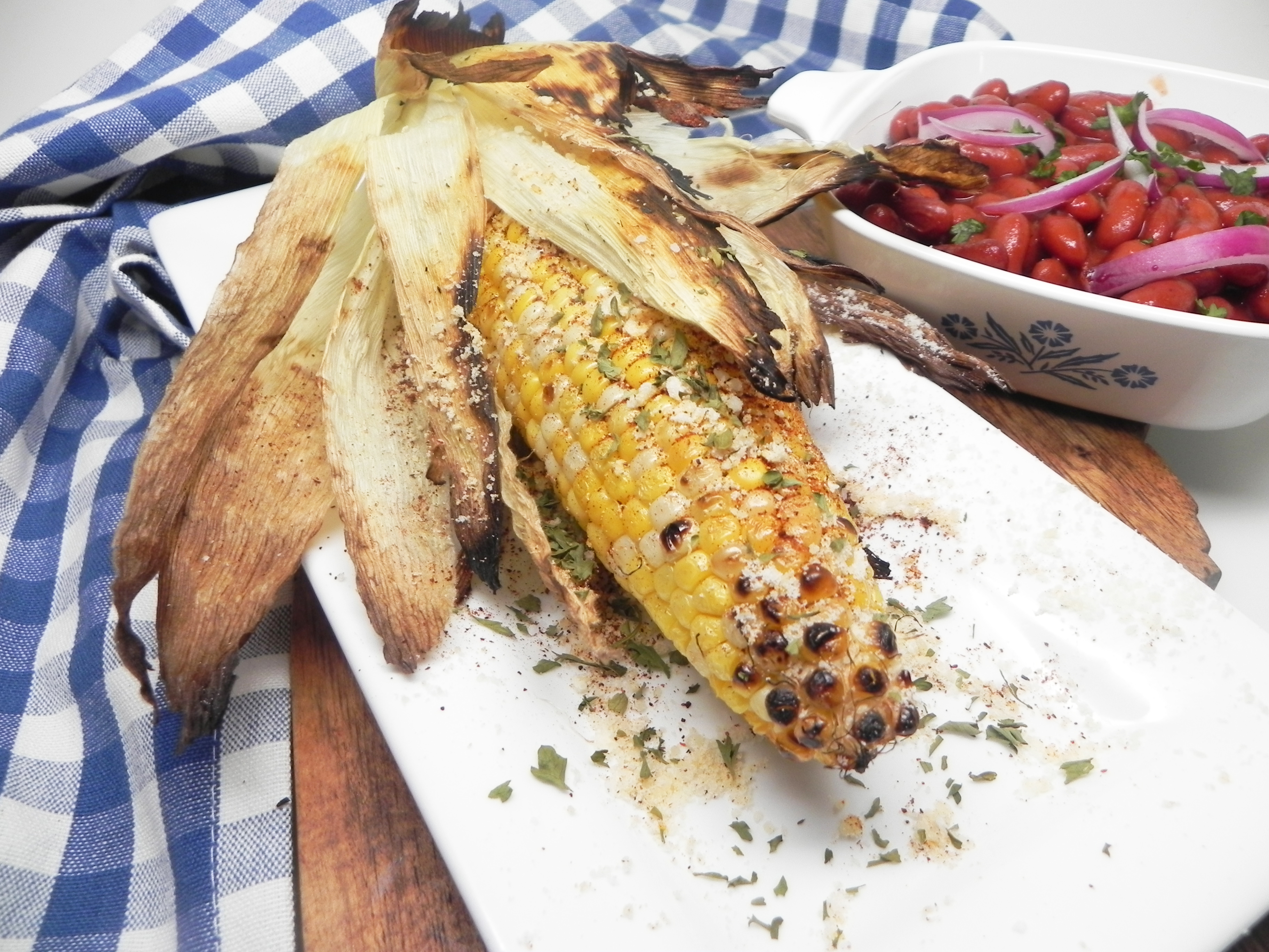 Mexican Roasted Street Corn on the Cob Michael B