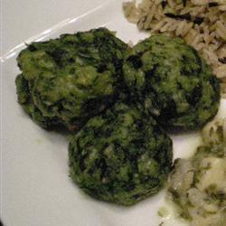 Parmesan Spinach Balls smitty