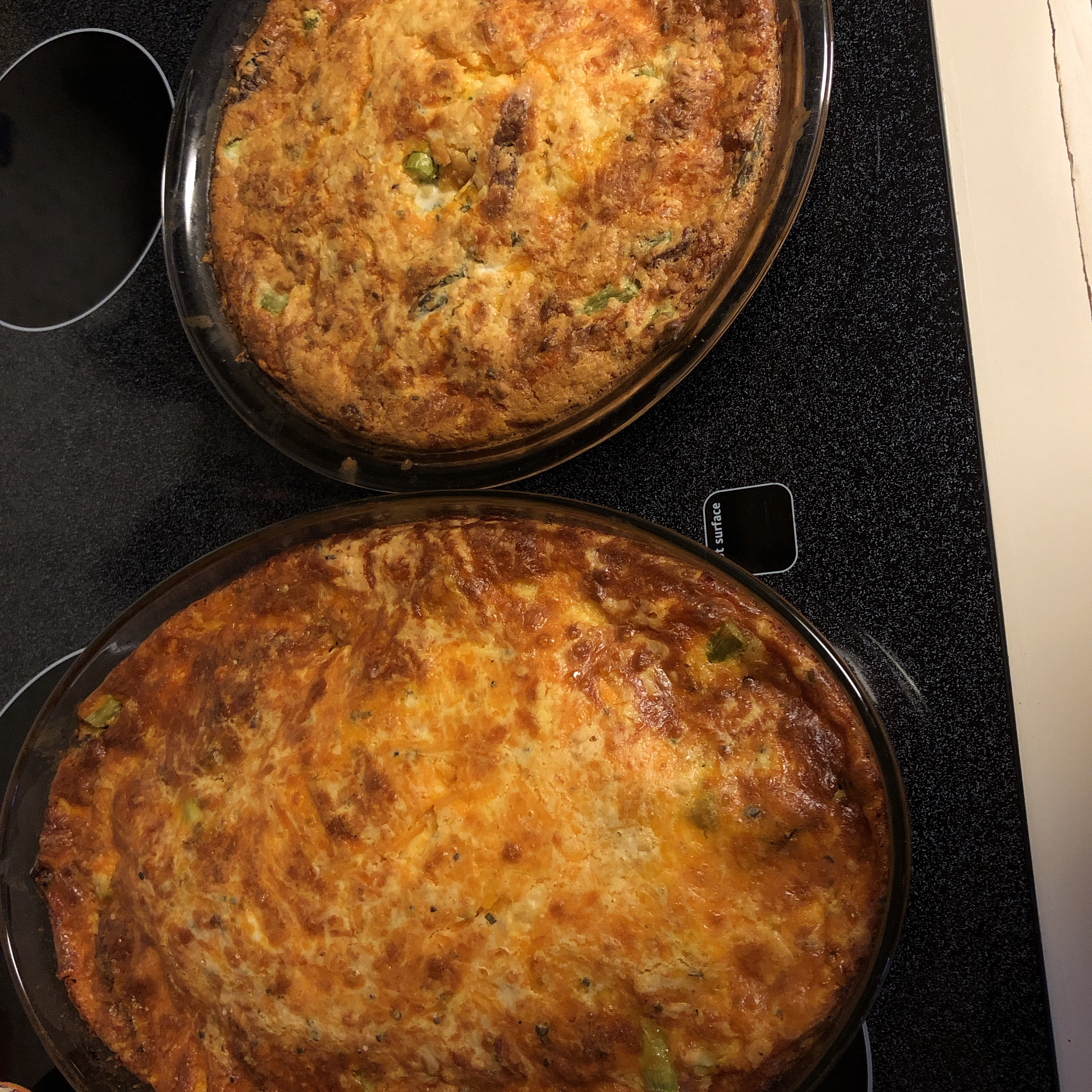 Impossibly Easy Ham and Asparagus Pie Judy Martin