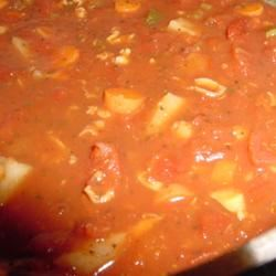 Manhattan Style Clam Chowder Lucky Noodles