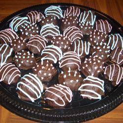 Easy Chocolate Chip Cookie Dough Truffles jabberwokky