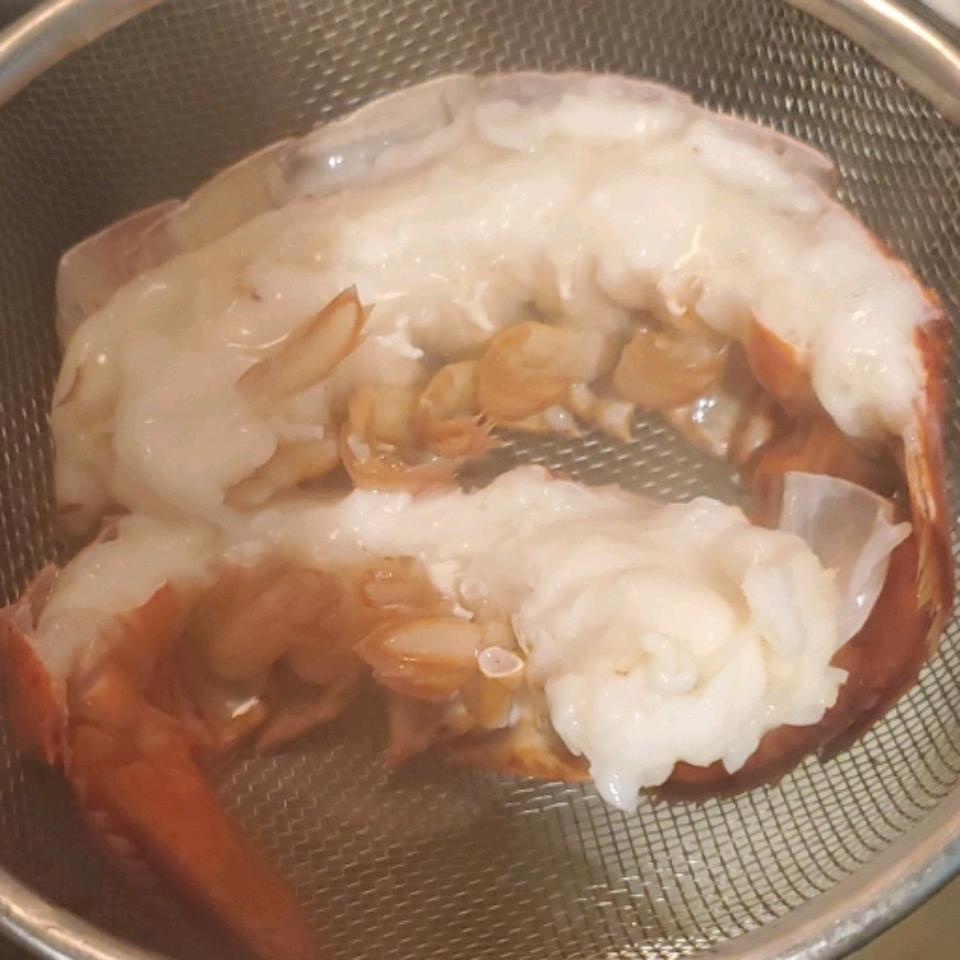 Lobster Tails Steamed in Beer Margret Adair