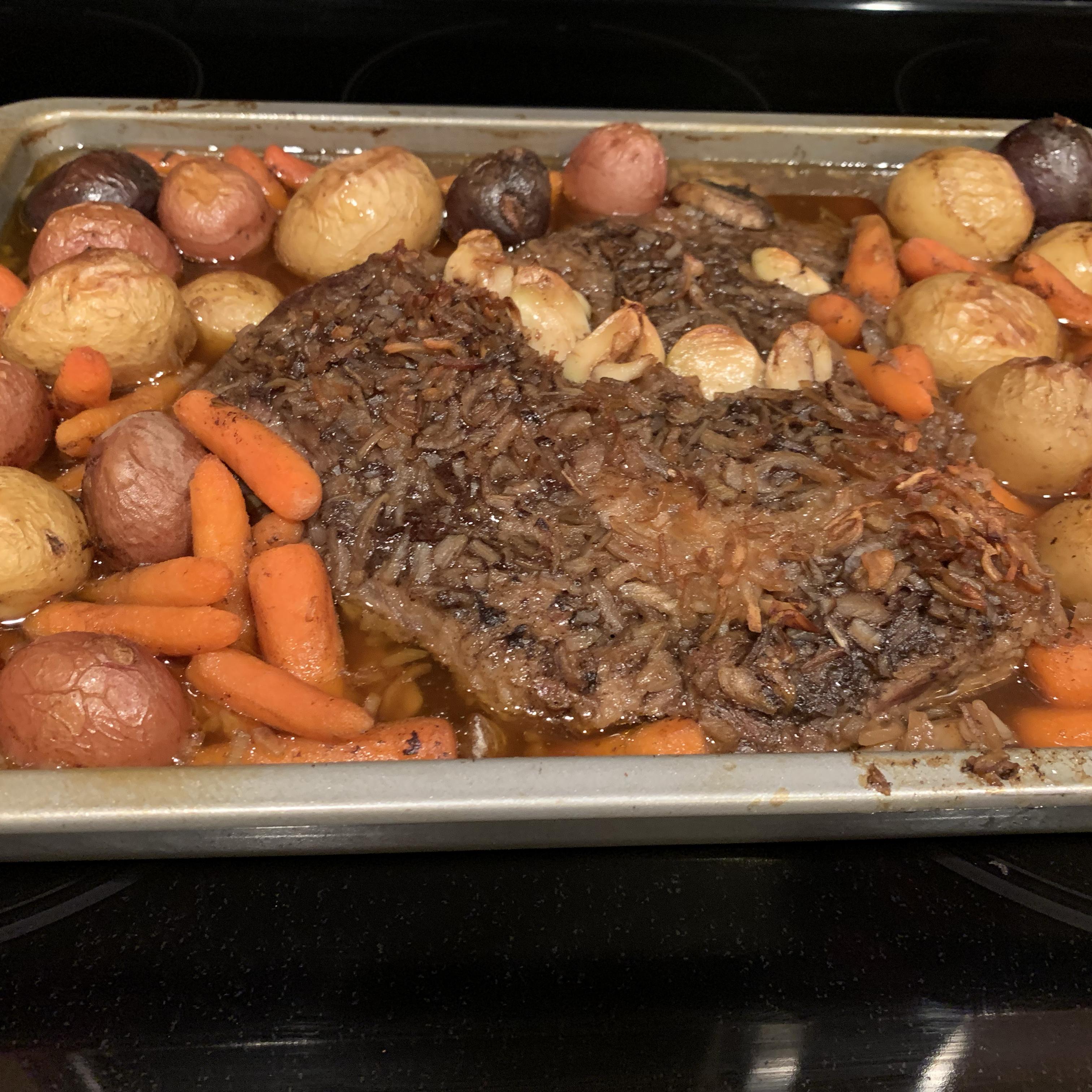 Oven Bag Pot Roast