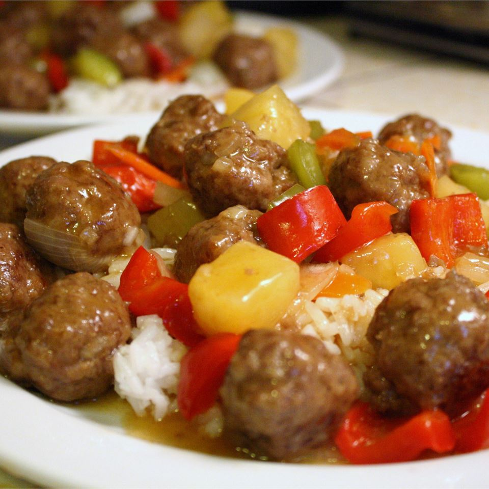 Lana's Sweet and Sour Meatballs LANAN