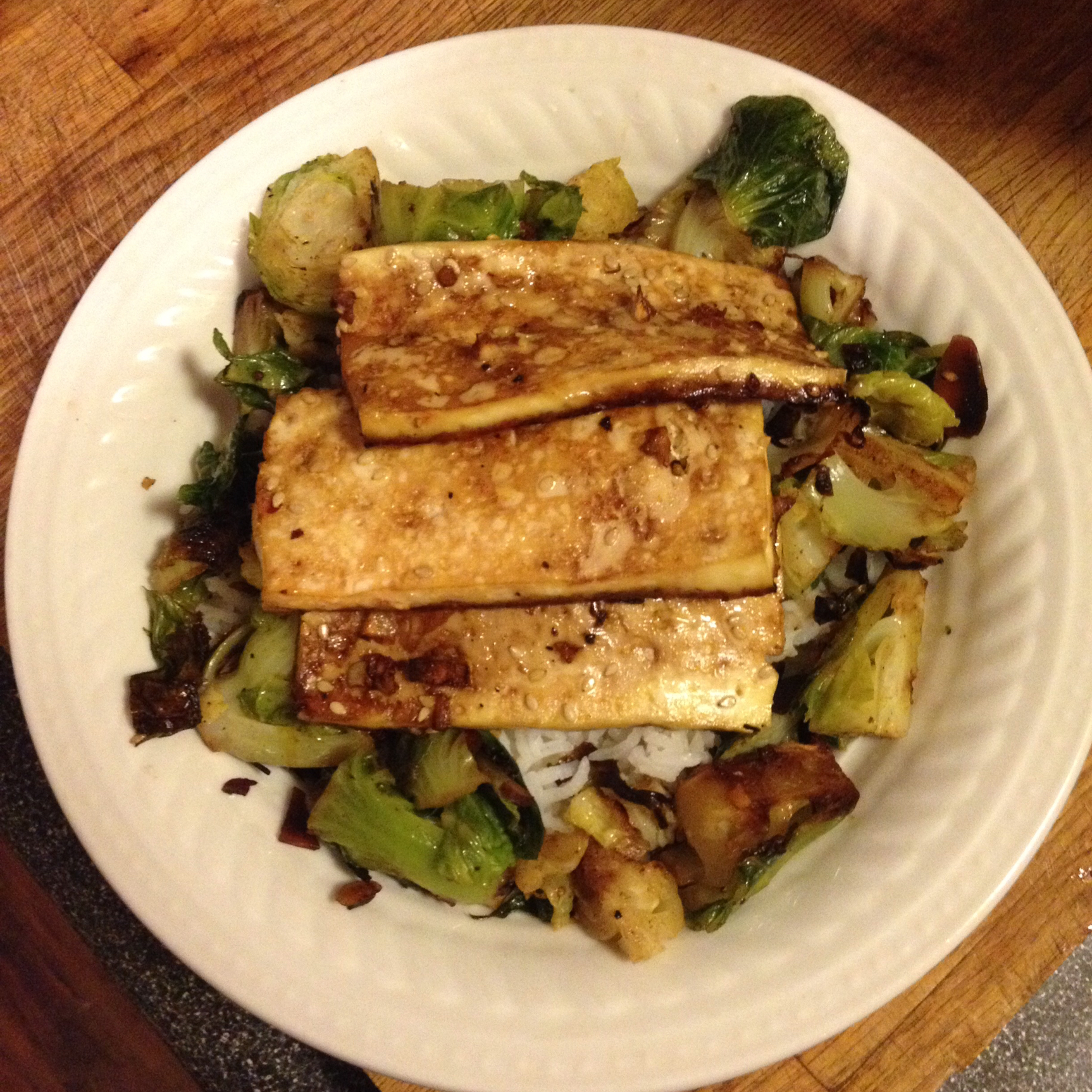 Baked Tofu Slices