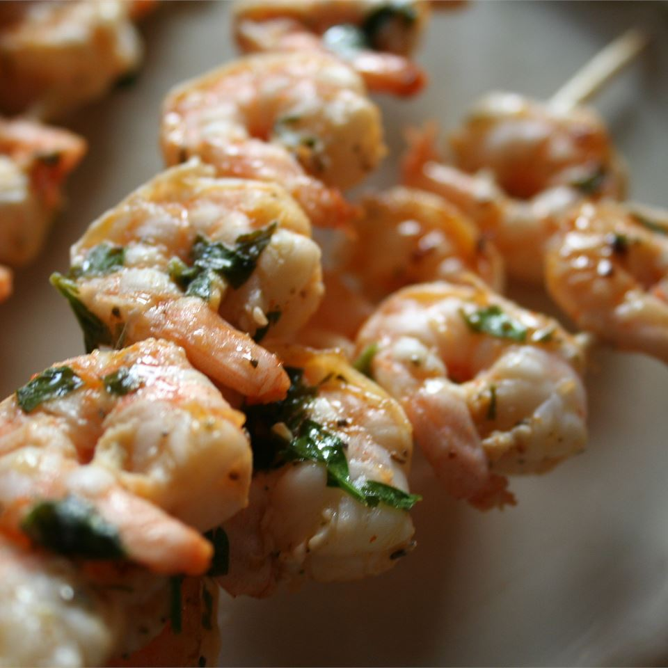 Grilled Marinated Shrimp Robbie Rice