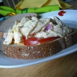 Cheggy Salad Sandwiches Jog Dish