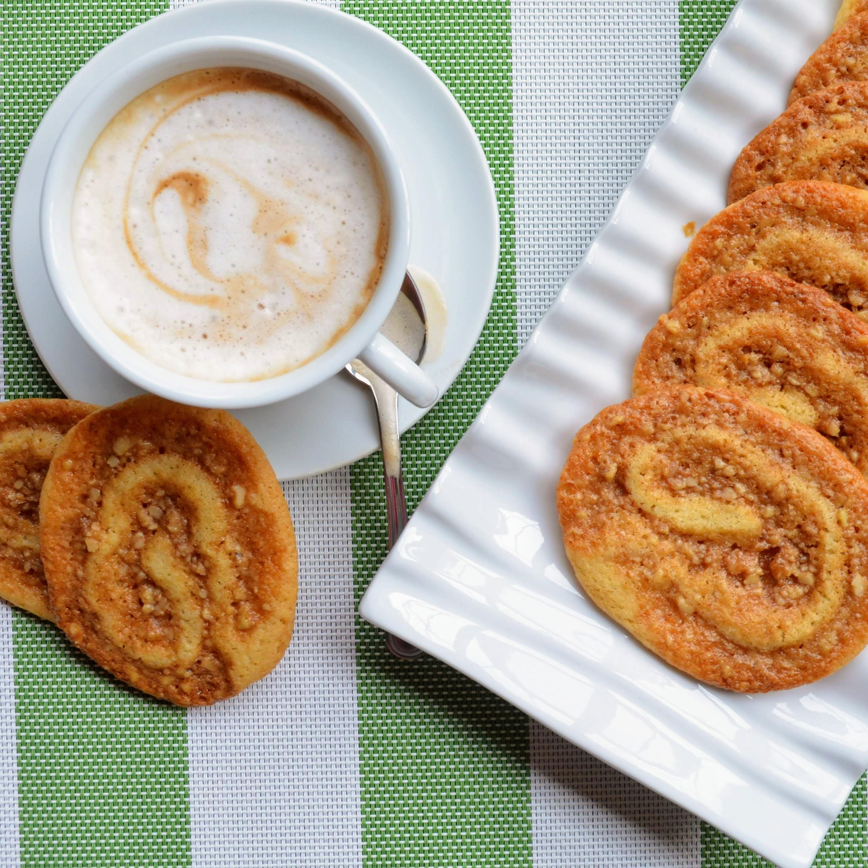 Baklava Pinwheel Cookies