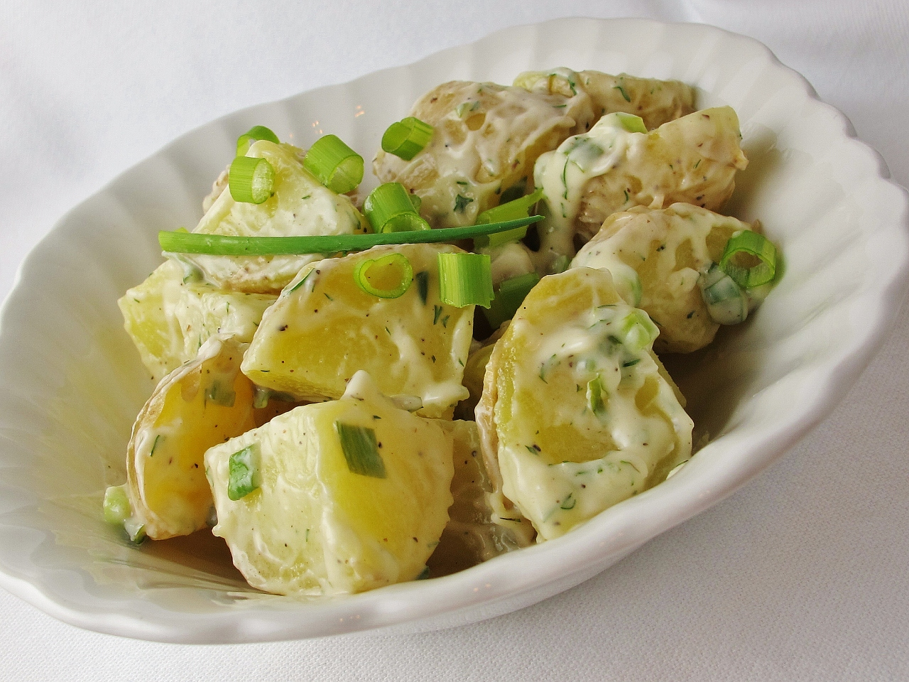 Tangy Dill Potato Salad