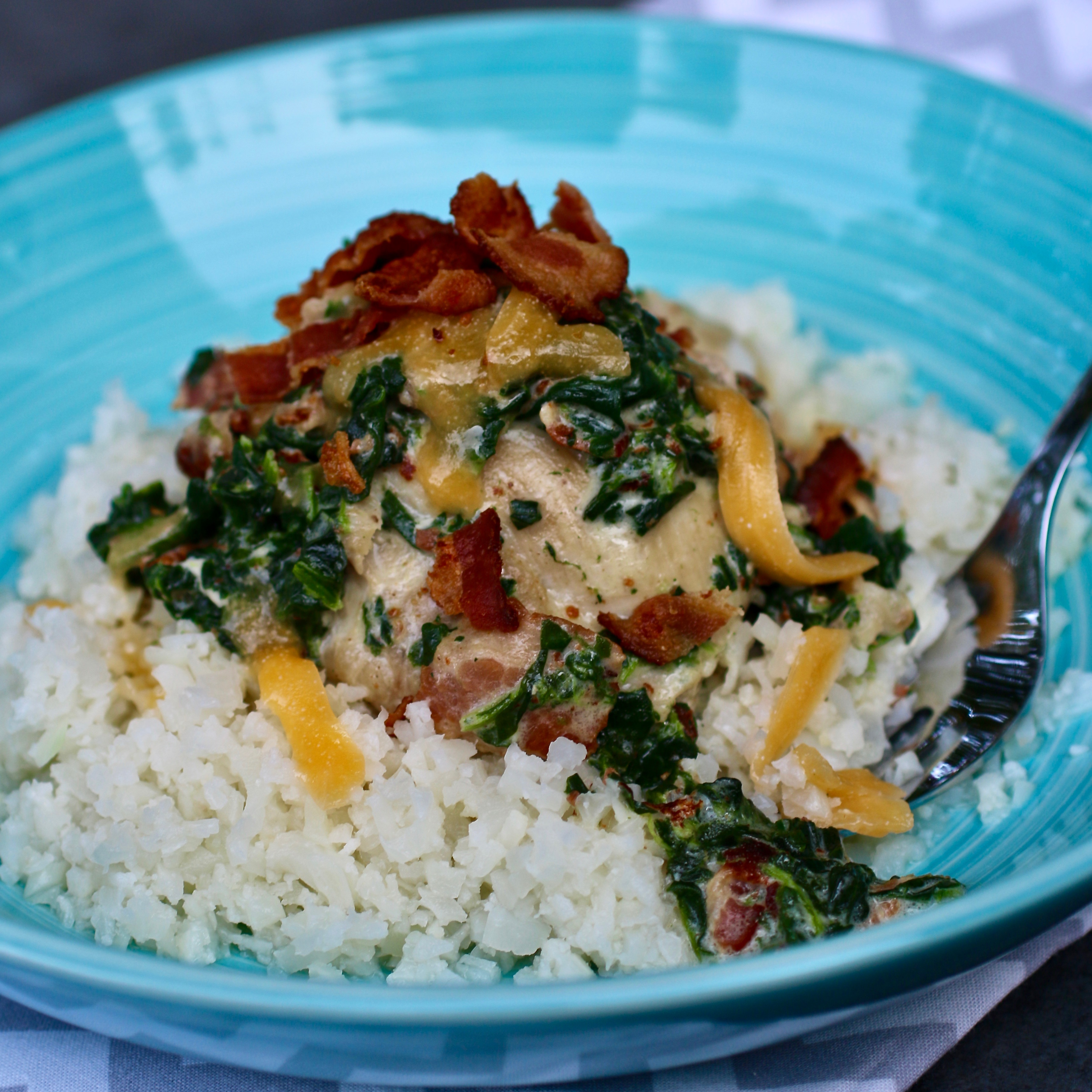 Instant Pot® Bacon-Ranch Chicken Thighs