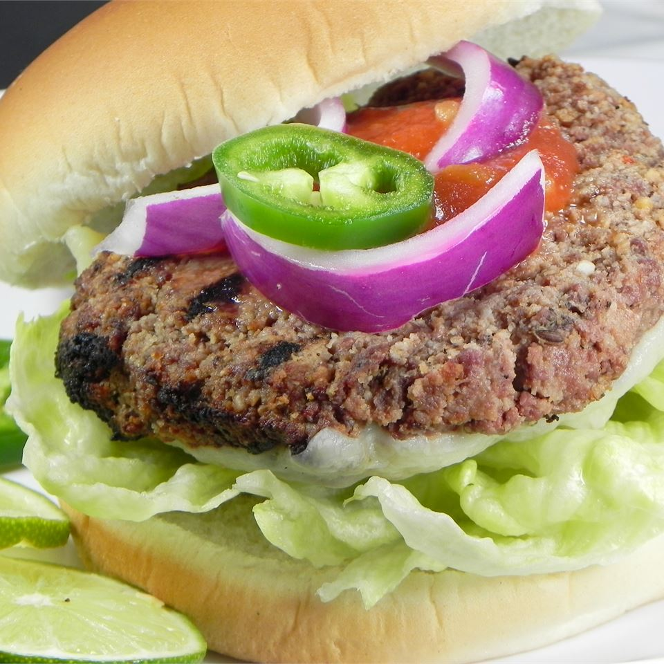 Tequila Lime Burgers