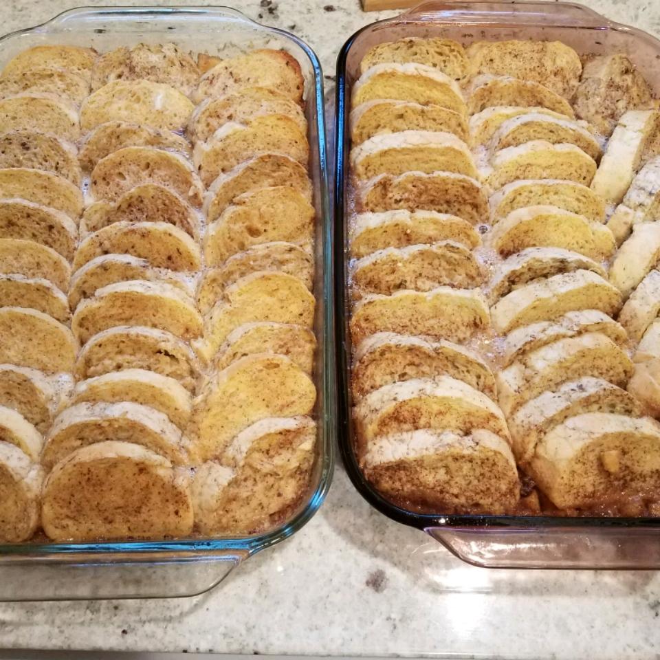 Apple-Raisin French Toast Casserole Edward