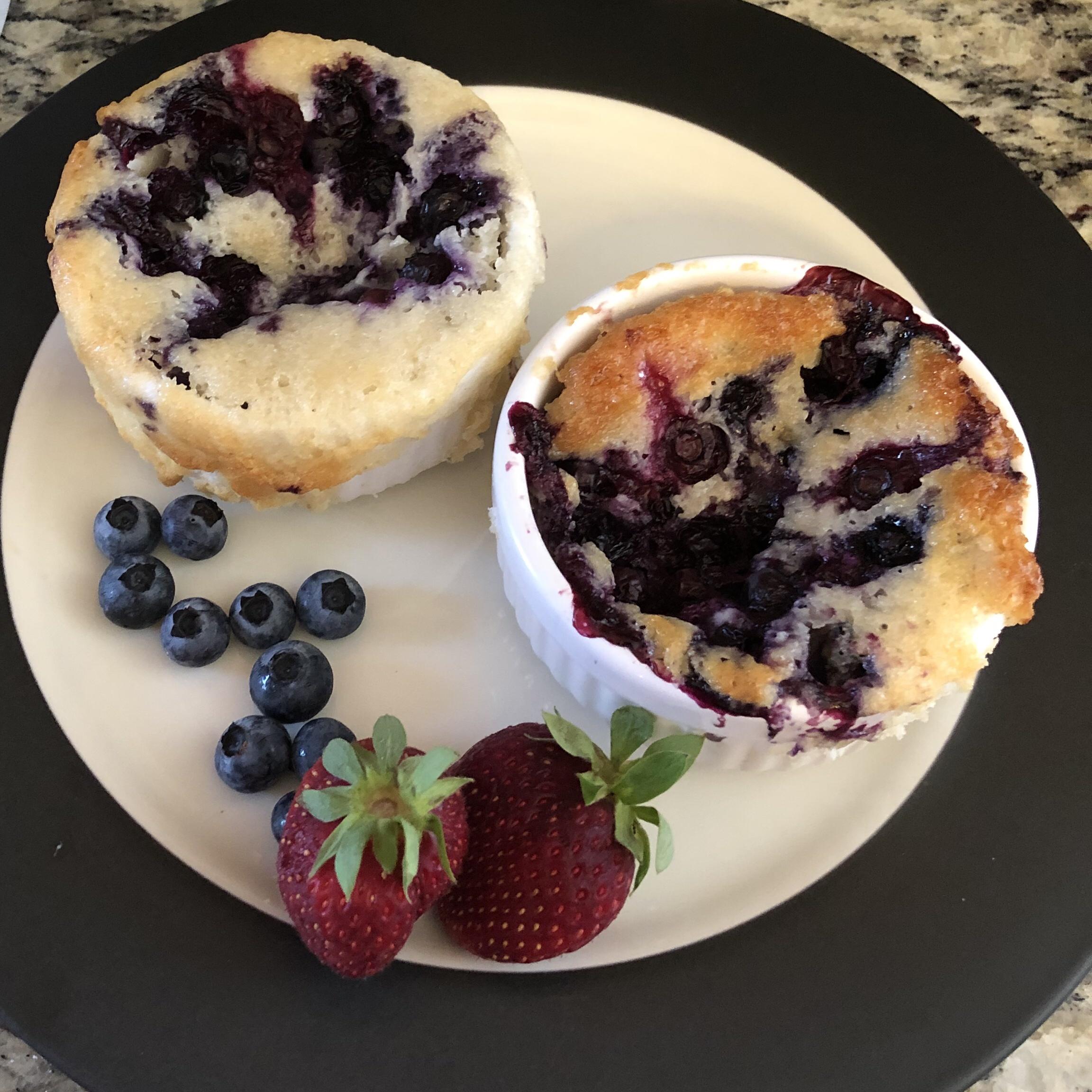 Easy Blueberry Cobbler Kristin