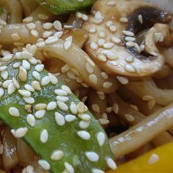 Sesame Udon Noodles Sarah