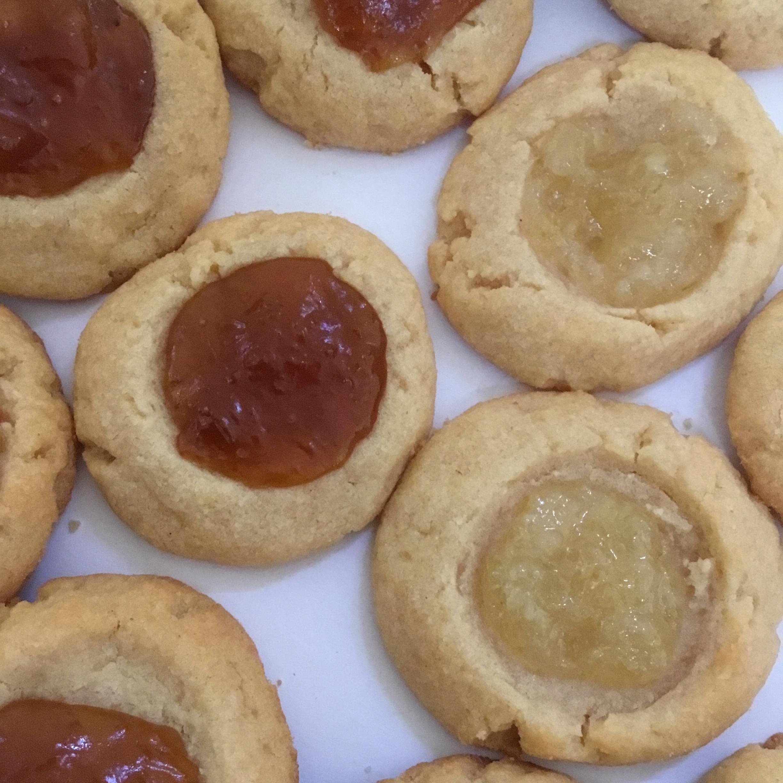 Jam Filled Thumbprint Cookies LVZ