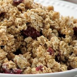 Light Fruit and Nut Granola