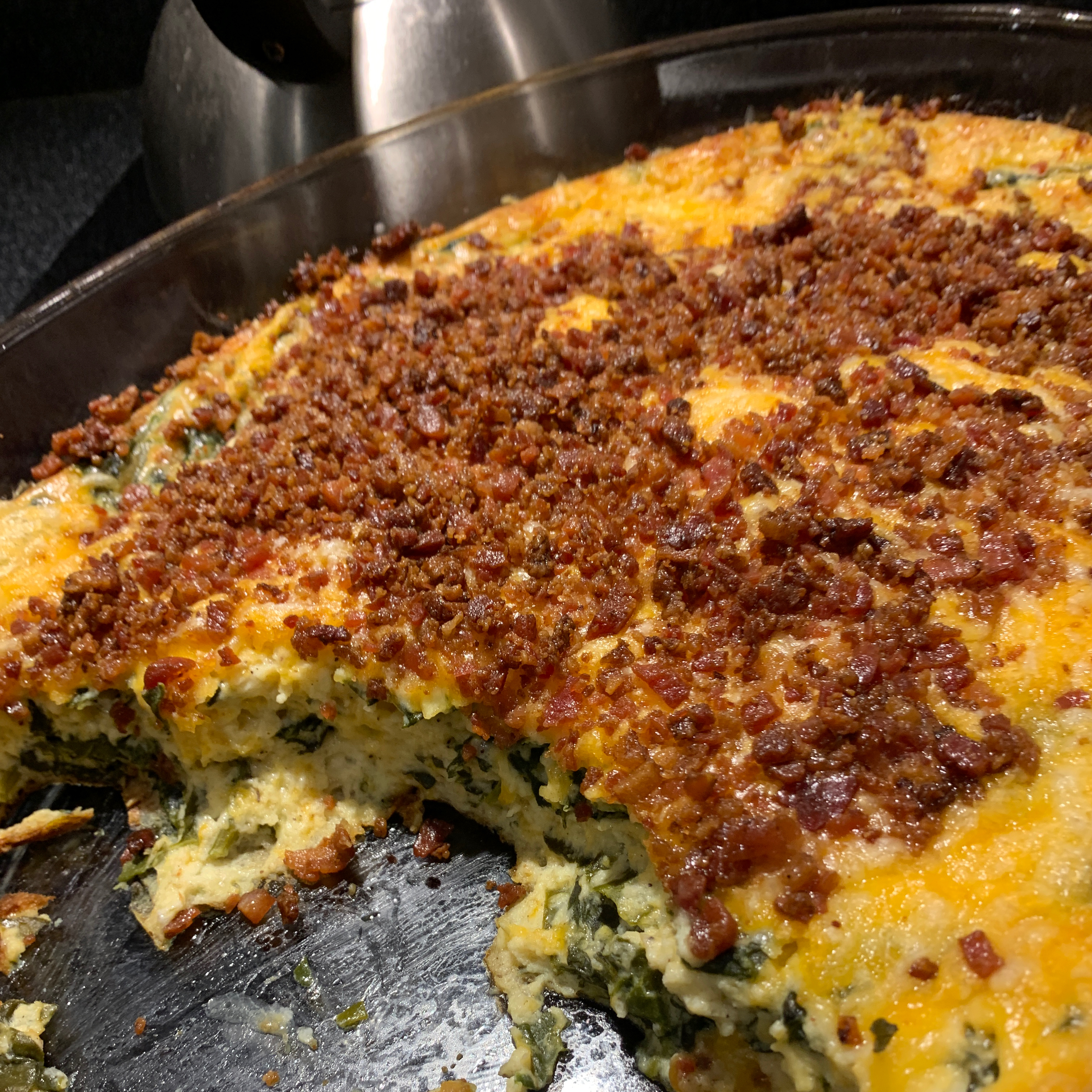 Quick and Easy Spinach Casserole Mike