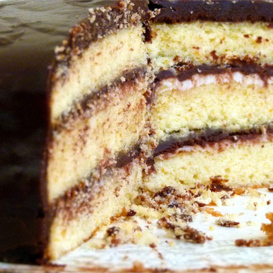 Decadent Chocolate Orange Cake Cricket