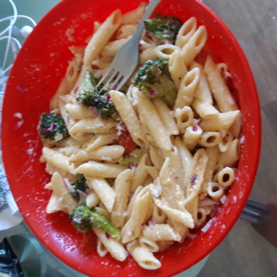 Pasta with Fresh Tomato Sauce Natebrimley