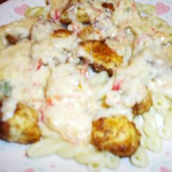 Chicken with Pepper Cheese Sauce trasa77