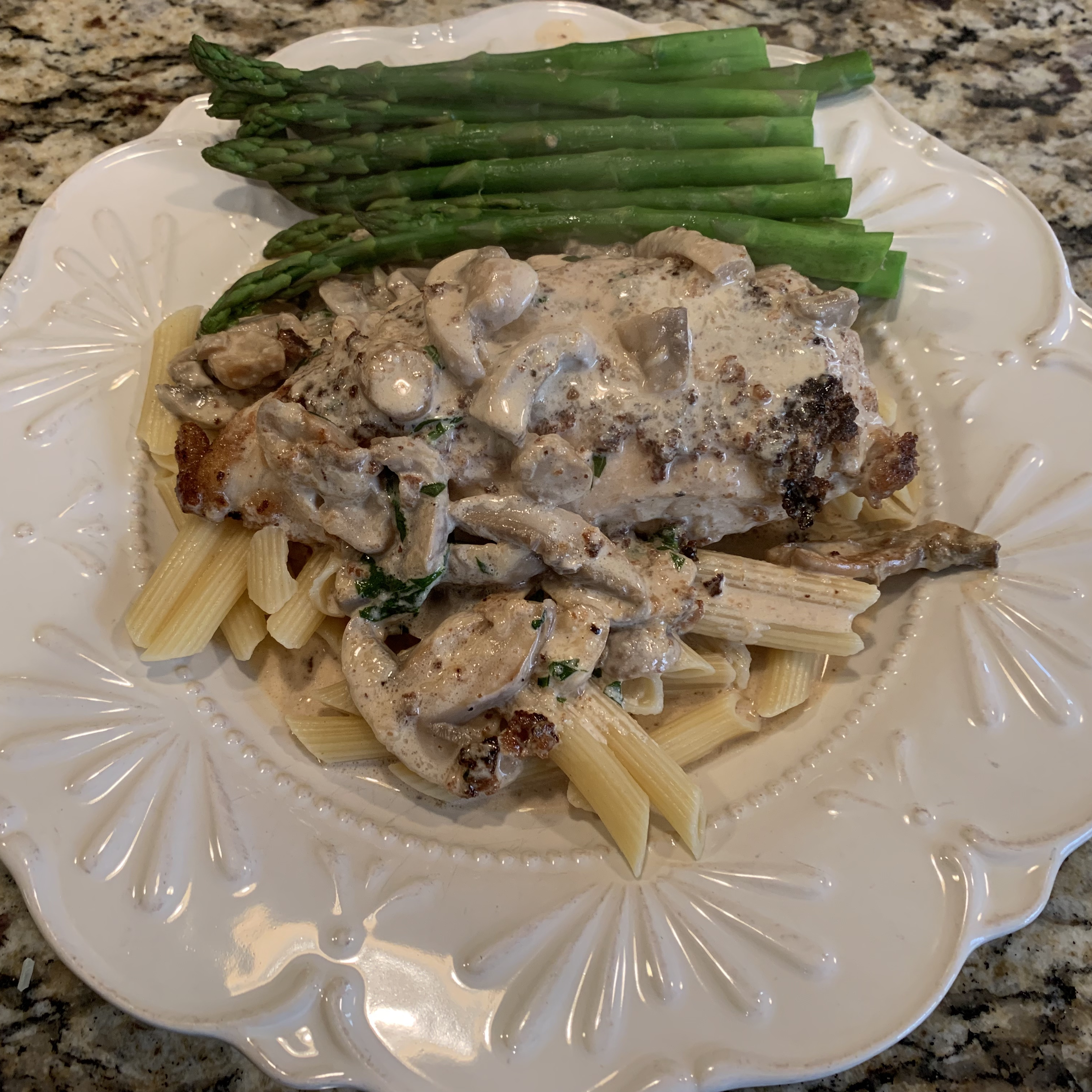 Basil Cream Chicken