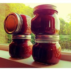 Easy Apple Rhubarb Jam