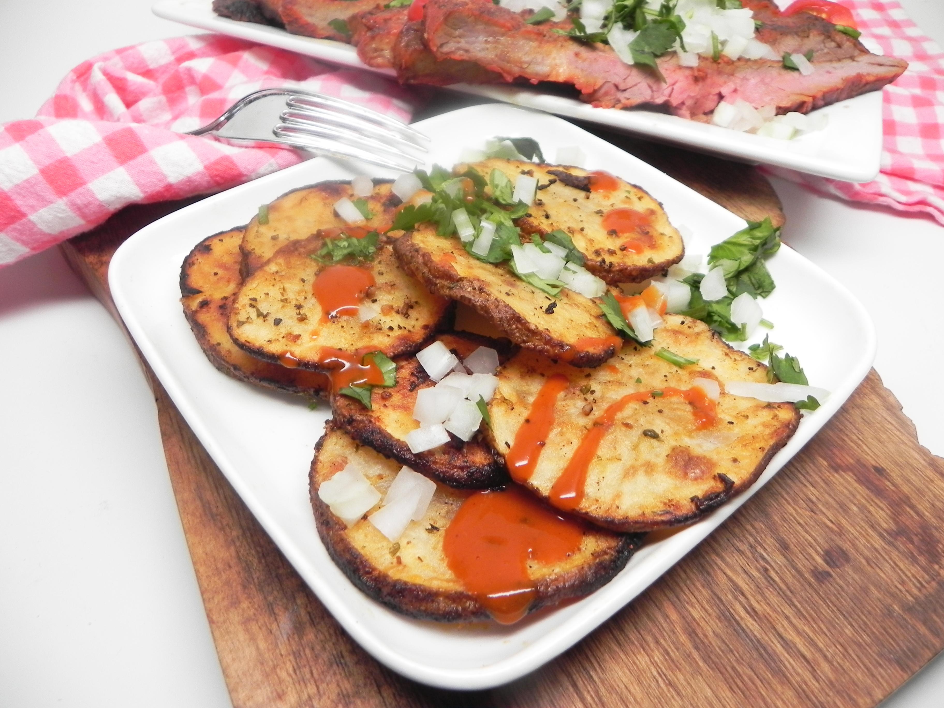 Grilled Potato Slices Soup Loving Nicole