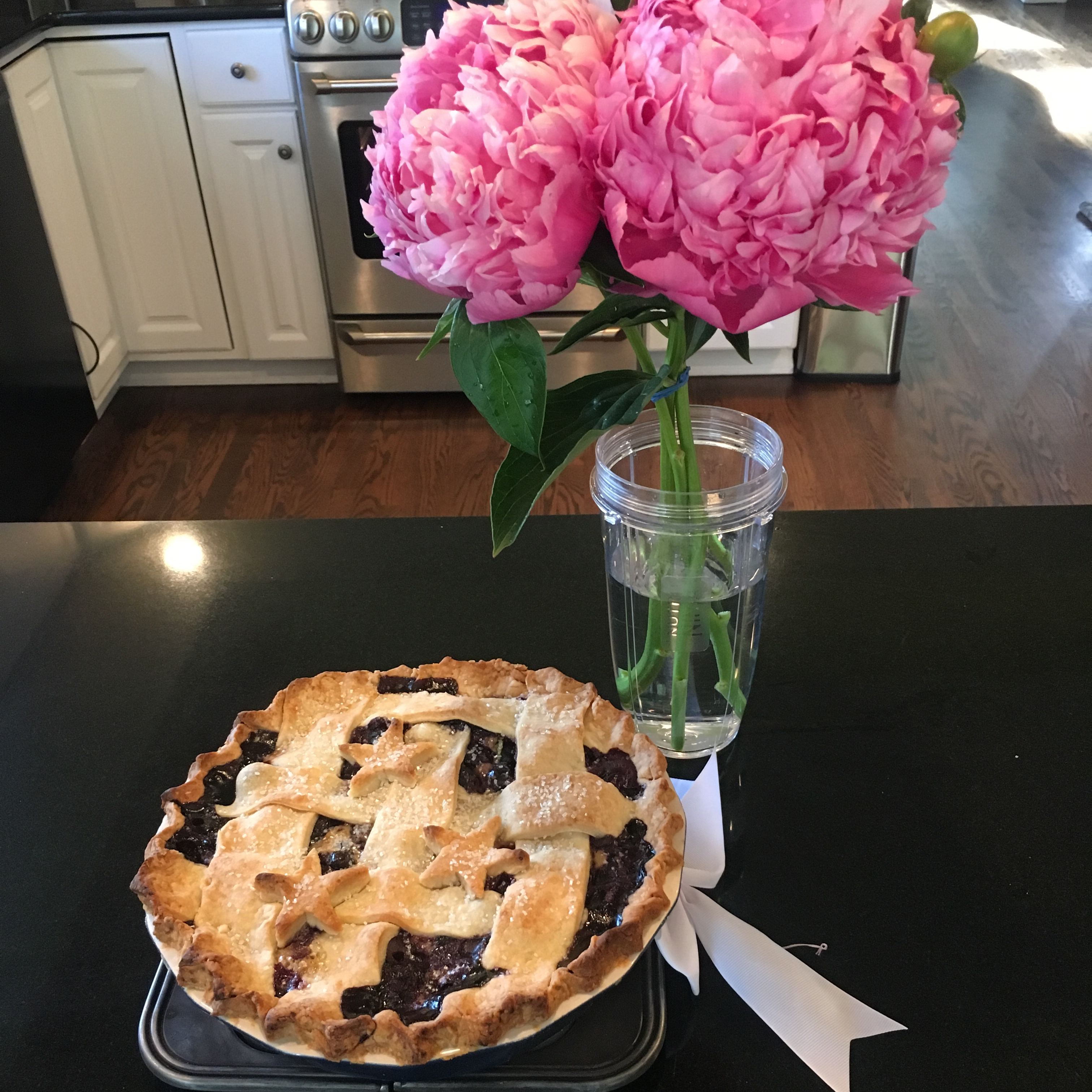 Blueberry, Goat Cheese, and Basil Pie rmcgranahan1
