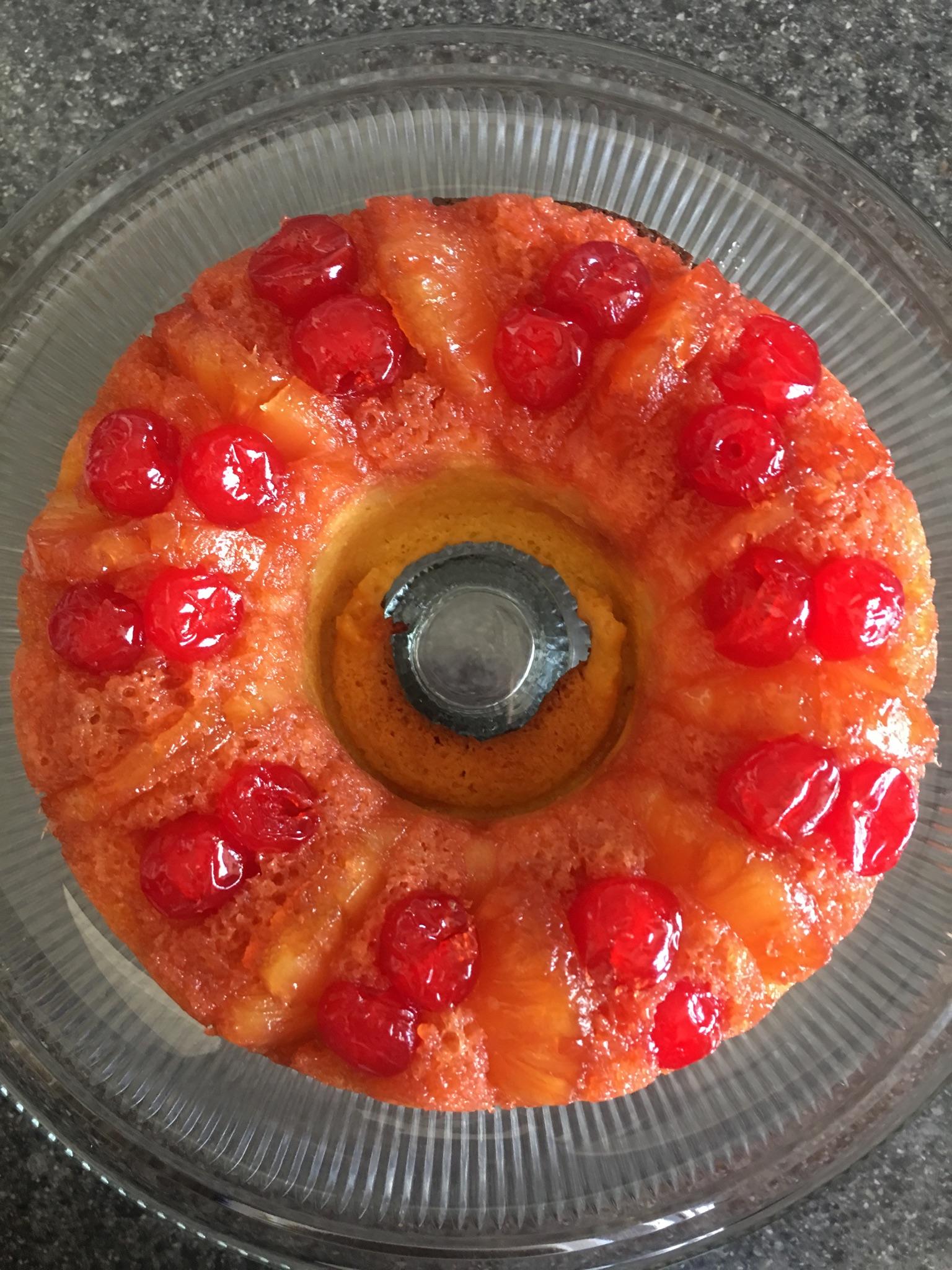 Pineapple Upside-Down Bundt® Cake