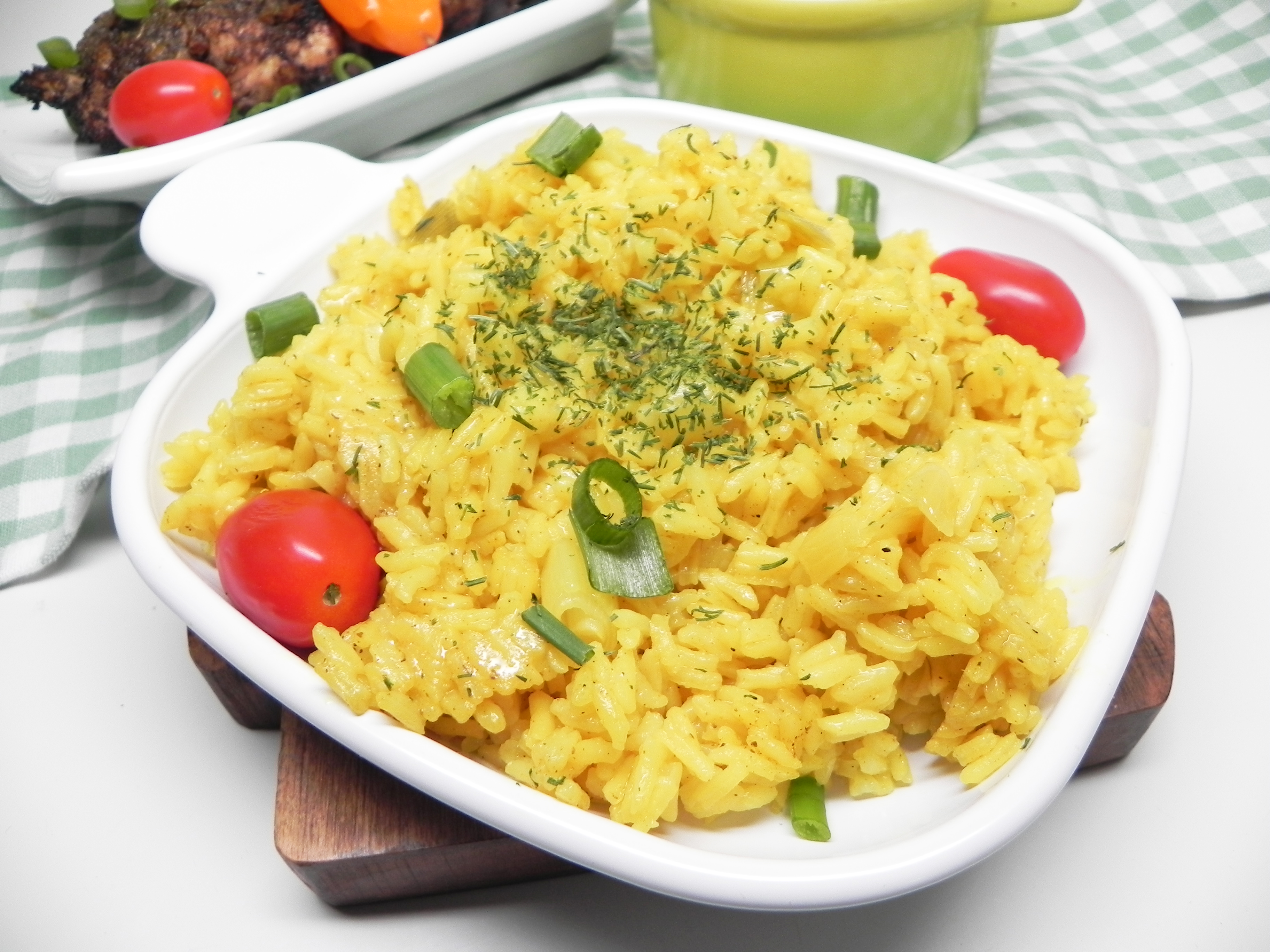 Zesty Lemon Rice